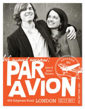 par avion Moving Announcements