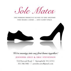 Sole Mates Moving Announcements