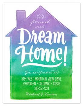 Watercolor Dream House