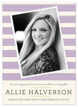 Allie Graduation Announcements