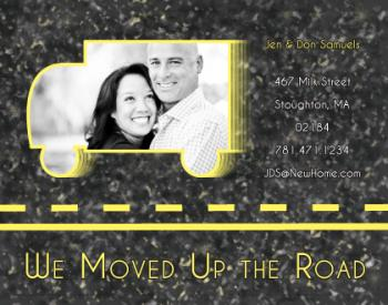 Up The Road Moving Announcements