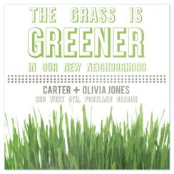 Grass is Greener Moving Announcements