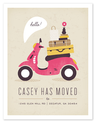 moving announcements - Mod Move by Kristen Smith