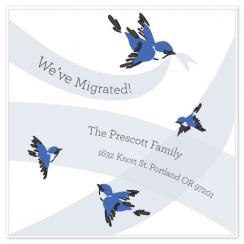 Our Family Has Migrated! Moving Announcements