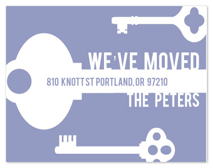 moving announcements - Keys to Our New House by Adai Le