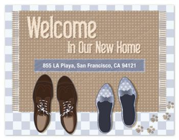 doormat Moving Announcements
