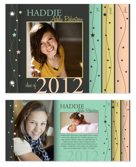 graduation announcements - Rising Star Celebration by Alina