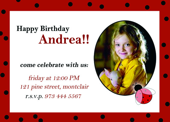 party invitations - Polka dot marks the spot by CML Designs