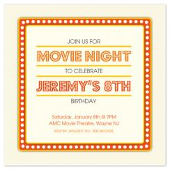Show Time Party Invitations