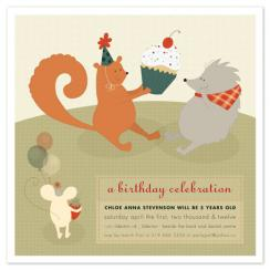 Picnic Party Party Invitations