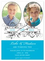 Little Men Twins by Lulubean Designs