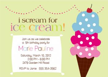 Ice Scream Social