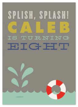 Splish, Splash! Party Invitations