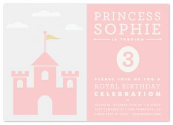 Castles Party Invitations