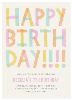 Happy Birthday!!!! Party Invitations