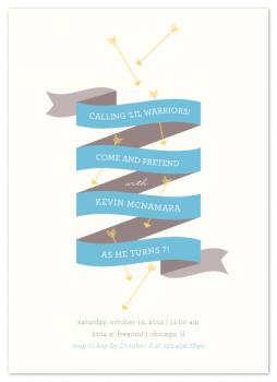 Arrows Party Invitations
