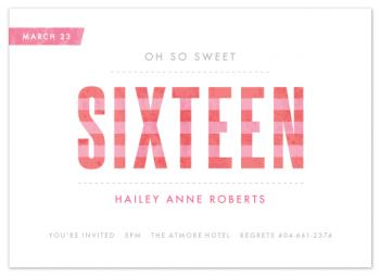 Oh so sweet sixteen Design