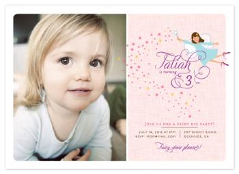 Fairy Big Party Party Invitations