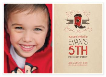Howdy Party Party Invitations