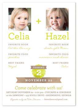 Snapshot Party Invitations