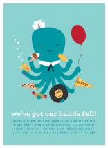 We've Got Our Hands Ful... by Waui Design