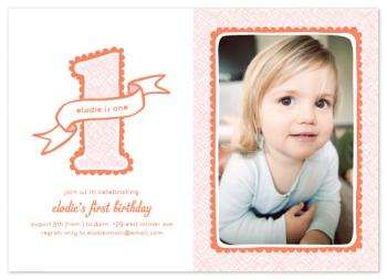 Birthday Scallops Party Invitations