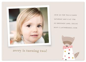 rosie the raccoon Party Invitations