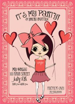 It's My Party! Party Invitations