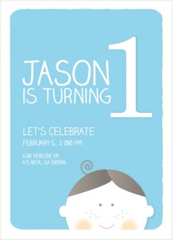 Let's Celebrate Party Invitations