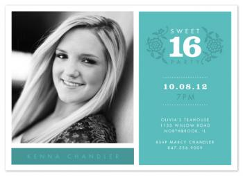 modern classic 16 Party Invitations