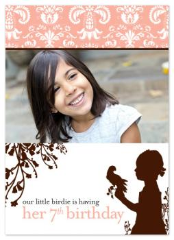 Our Little Birdie Birthday Party Invitation Party Invitations