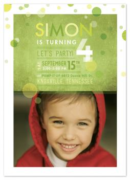 Spree Party Invitations