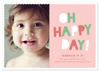 Happy Day Party Invitations