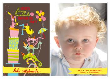 funny_animals_prepare_party_with_photo Party Invitations