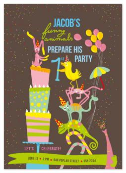 funny_animals_prepare_party Party Invitations