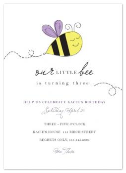 Bee There Party Invitations