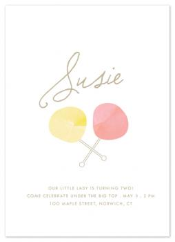 Spun Sugar Party Invitations