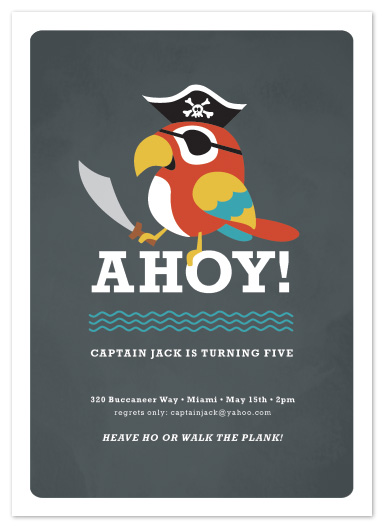 party invitations - yo ho ho! by Susan Asbill