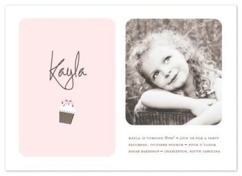 Sweetly Sprinkled Party Invitations