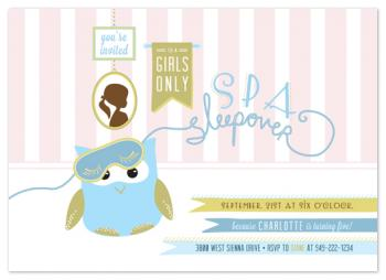 Night Owl Party Invitations