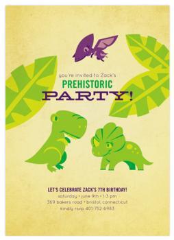 Prehistoric Party!