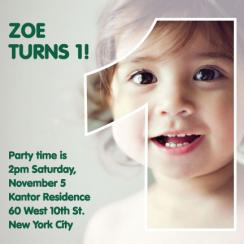 Ghost Birthday Party Invitations