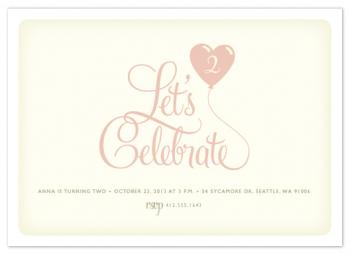 Sweet Celebration Party Invitations