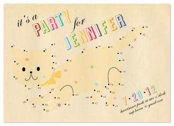 party kitten Party Invitations