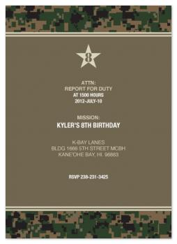 kyler Party Invitations