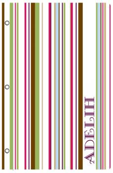 Fresh Stripes Journals