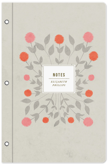 journals - Soft Bouquet by Katie Wahn