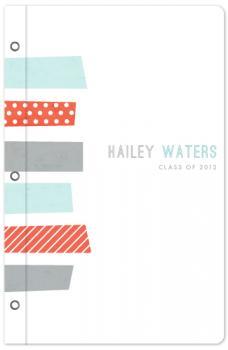 Cropped washi Journals