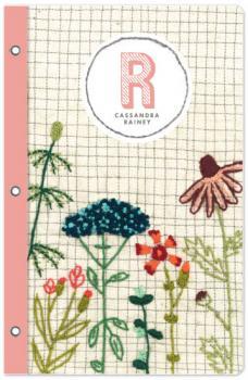 Embroidered Garden Journals