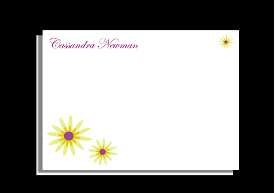 personal stationery - Sunshine day by CML Designs